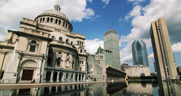 A IGREJA MÃE DA CIÊNCIA CRISTÃ, BOSTON, MA, EUA
